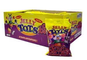 Wilsons Jelly Tots - Crazi Berries (100g)