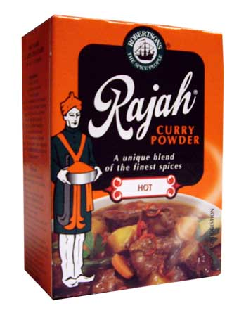 Robertsons Rajah Curry Powder - Hot (100g)