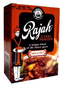 Robertsons Rajah Curry Powder - Mild & Spicy (100g)
