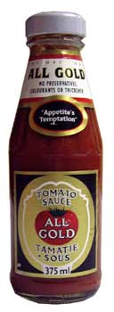 All Gold Tomato Sauce (350ml)