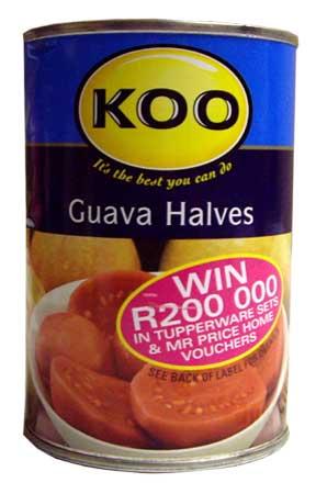 Koo Guava Halves (410g)