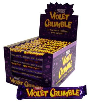 Nestle Violet Crumble (50g)