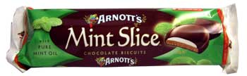 Arnotts Chocolate Mint Slice (200g)