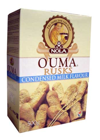 Ouma Rusks - Condensed Milk (500g)