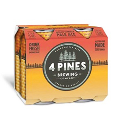 4 Pines Indian Summer Pale Ale (4 x 375ml cans)