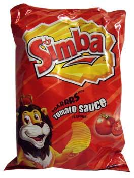 Simba Tomato Sauce Chips (125g)