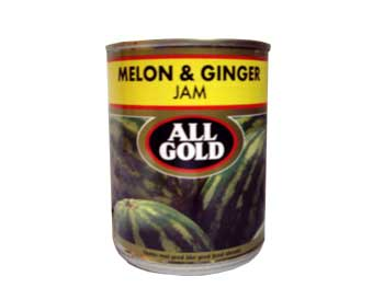 All Gold Melon and Ginger Jam (450g)