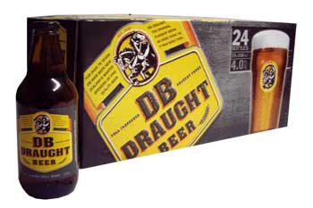 DB Draught (24 x 330ml bottles)