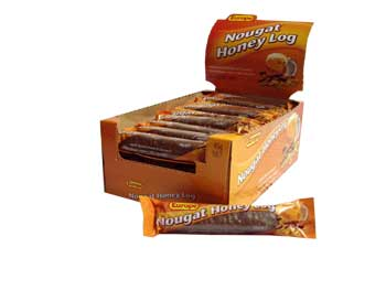 Europe Nougat/Honey Log (40g)