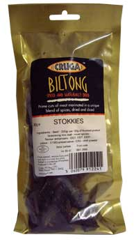 Cruga Sliced Biltong Stokkies - Chilli (1kg)