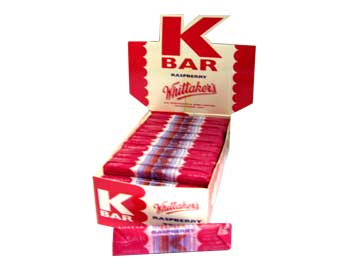 Whittakers K Bar - Raspberry (24g)