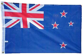 New Zealand Flag  (5 x 3ft)