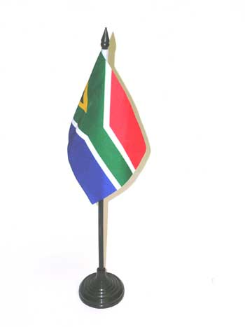 South African Desk Flag