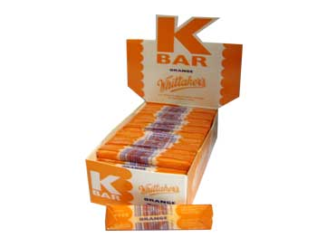 Whittakers K Bar - Orange (24g)