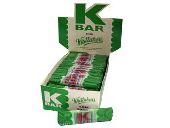 Whittakers K Bar - Lime (24g)