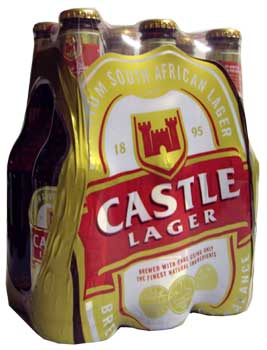 Castle Lager (6 x 340ml bottles)