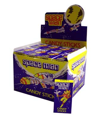 Space Man Candy Sticks Sweets And Lollies From New Zealand
