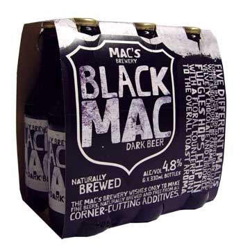Macs Black  (6 x 330ml bottles)