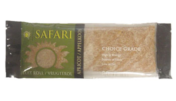 Safari Fruit Roll - Apricot (80g)
