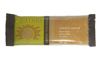 Safari Fruit Roll - Mango (80g)