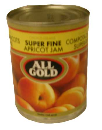 All Gold Super Fine Apricot Jam (450g)