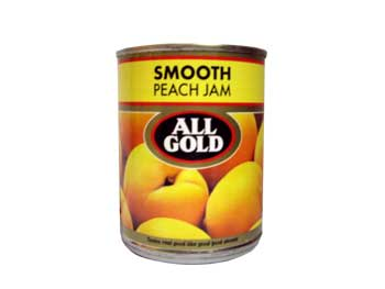 All Gold Peach Jam (450g)
