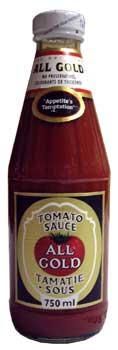 All Gold Tomato Sauce (700ml)