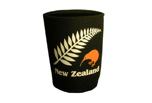 Stubby Holder New Zealand Fern