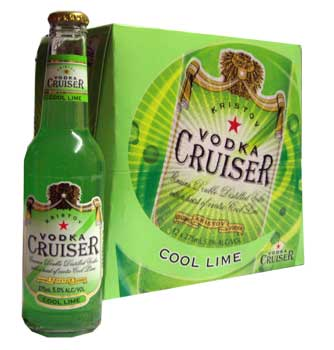 Vodka Cruiser - Lime (12 x 275ml bottles)