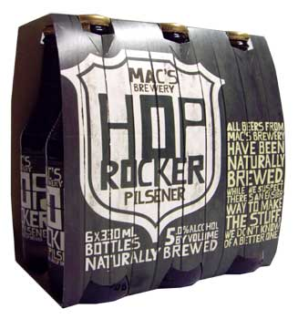 Macs Hop Rocker - Pilsener (6 x 330ml Bottles)