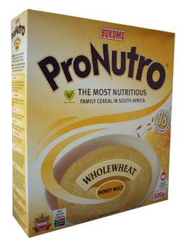 Pronutro - Wholewheat Honey Melt (500g)