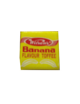 Wilsons Toffees - Banana flavour (10g)