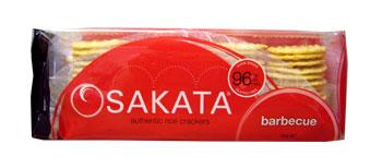 Sakata Gluten Free Rice Crackers - BBQ (100g)