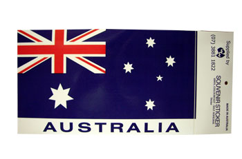 Sticker - Australian Flag (Large)