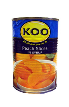 Koo Peach Slices In Syrup (410g)
