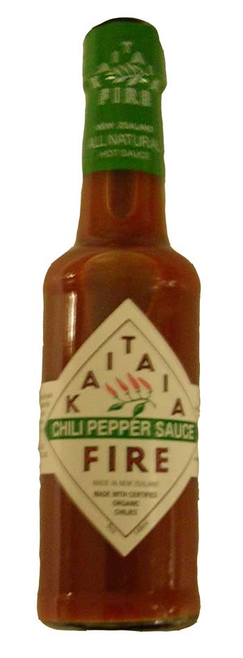 Kaitaia Fire - Hot Chilli Sauce (150ml)