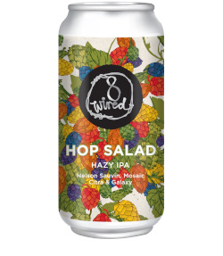 8 Wired Hop Salad Hazy IPA (440ml)