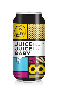 8 Wired Juice Juice Baby Hazy IPA (440ml Can)