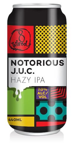 8 Wired Notorious J.U.C. (440ml)
