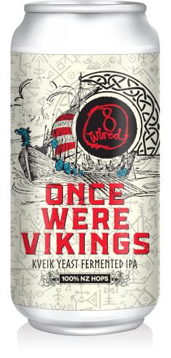 8 Wired Once Were Vikings Kveik Yeast Fermented IPA (440ml)