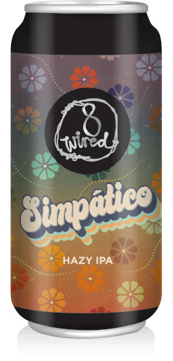 8 Wired Simpatico Hazy IPA (440ml)