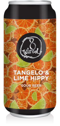 8 Wired Tangelo & Lime Hippy Sour Beer (440ml)