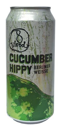 8 Wired Cucumber Hippy Berliner Weisse (440ml)