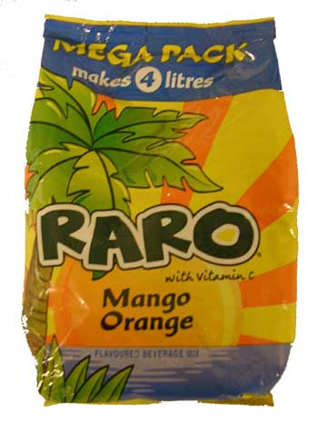 Raro Mega Pack - Orange Mango (320g)
