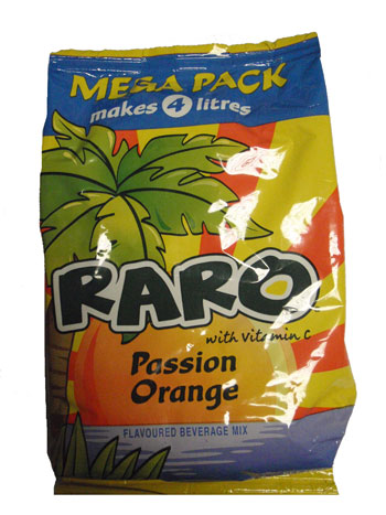 Raro Mega Pack - Passion Orange (320g)