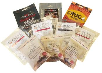 Biltong Taster Variety Pack - Hot - 9 packets (310g)