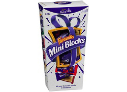 Cadbury Favourites Mini Blocks (320g)