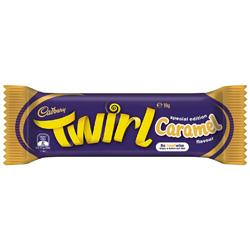 Cadbury Chocolate Twirl - Caramel (39g)