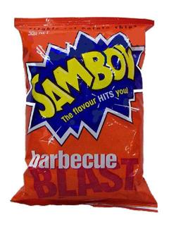 Samboy BBQ Blast Chips (45g)