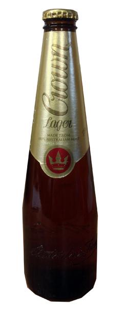 Crown Lager (375ml bottle)